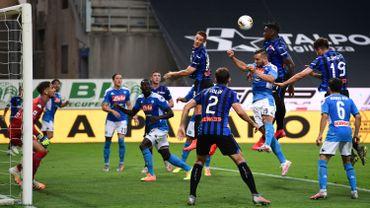 Duvan Zapata en action face à Naples