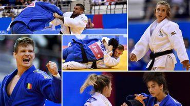 Matthias Casse, Charline Van Snick, Jorre Verstraeten, Gabriella Willems et Toma Nikiforov dans la course à la qualification olympique pour les JO de Tokyo 2020.