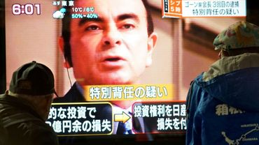 Un tribunal de Tokyo a décidé lundi de prolonger jusqu'au 11 janvier la garde à vue du PDG de Renault, Carlos Ghosn