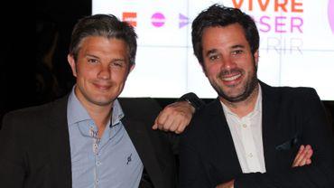 Benjamin Deceuninck et Adrien Devyver dans La Tribune