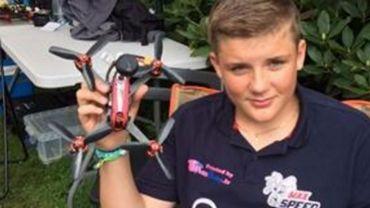 Maximilien et son drone