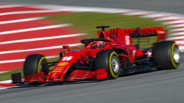 La Ferrari de Charles Leclerc