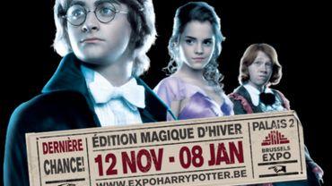 L'exposition Harry Potter à Bruxelles prolongée jusqu'au 8 janvier