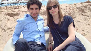 David Murgia et Amélie Van Elmbt à Cannes