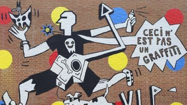 """""""Ceci n'est pas un graffiti"""" : un art plus très street ?"""