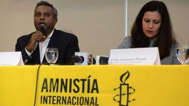 """Le rapport critique aussi l'attitude du Mexique et des Etats-Unis, pays qui """"éludent totalement leur responsabilités de protéger les personnes réfugiées et les demandeurs d'asile en provenance d'Amérique centrale""""."""