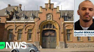 Le dernier évadé de Turnhout envoie une carte à l'administration pénitentiaire