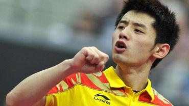 Le Chinois Zhang Jike nouveau champion du monde de tennis de table