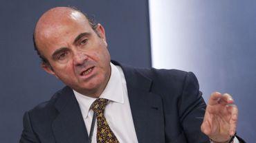Luis de Guindos, ministre espagnol de l'Economie