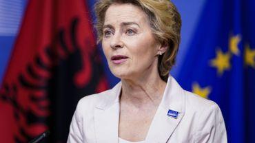 Ursula von der Leyen, présidente de la Commission européenne est à l'initiative de cette conférence mondiale des donateurs.