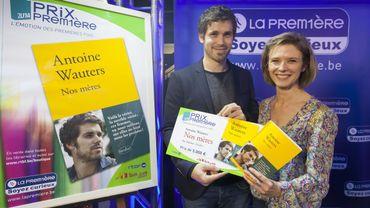 Antoine Wauters : Prix Première 2014 & Corinne Boulangier, directrice de La Première