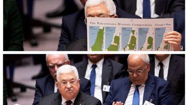 Mahmoud Abbas à l'ONU, ce 11 février