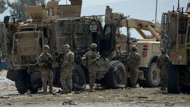 Des soldats américains près de Jalalabad, en Afghanistan, le 10 avril 2015