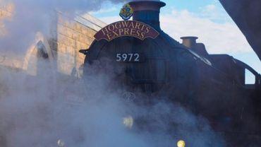Arrivée de l'expo Harry Potter