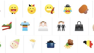Des emojis 100% belges