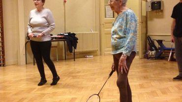 A 101 ans, Marie Carte pratique le badminton chaque semaine