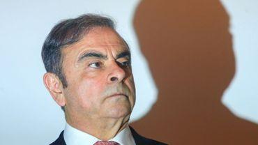 Carlos Ghosn, l'ancien patron de Renault et Nissan, lors de sa conférence de presse à Beyrouth, le 8 janvier 2020.