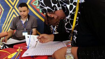 Comptage des votes à Benghazi