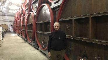 Frank Boon a besoin de 300 tonnes de cerises chaque année pour la production de Kriek
