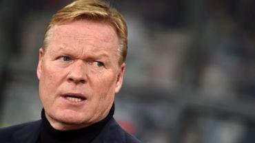 Libéré par la fédération néerlandaise, Ronald Koeman s'engage au FC Barcelone
