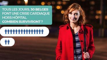 """Accident cardiaque : """"Sauve une vie"""", l'expérience interactive de nécessité publique"""