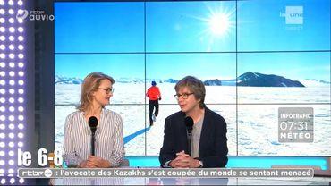 Tout savoir sur le marathon de l'antarctique 1/2