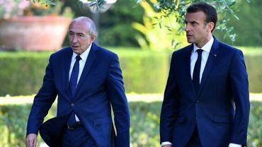 Gérard Collomb et Emmanuel Macron