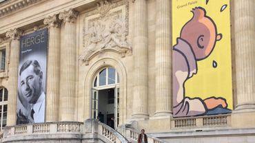 Hergé au Grand Palais à Paris