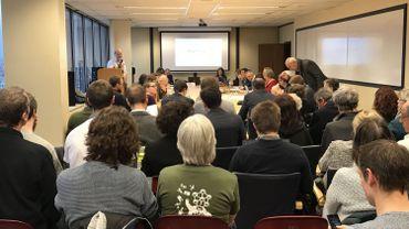 Commission de concertation NEO en l'absence de membres du collège de la Ville de Bruxelles, ce mercredi matin