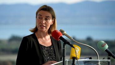 """De ce dont Federica Mogherini souhaite précisément débattre au dîner, rien n'a filtré de ses services, qui ont simplement évoqué la nécessité d'""""un échange de vues sur la façon d'aller de l'avant dans les relations UE-USA""""."""