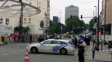 Le quartier de la rue Neuve bouclé après une alerte à la bombe à City 2 le 21 juin dernier (illustration).