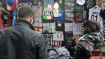 Des touristes à Venise, le 20 octobre 2017