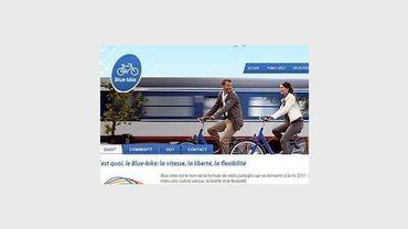 """La SNCB lance ses vélos partagés """"Blue Bike"""""""