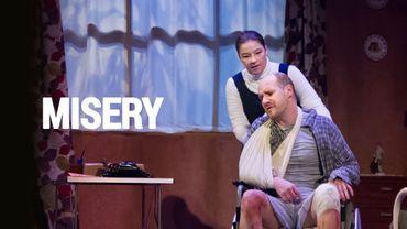 Le spectacle «Misery» sur Auvio. Vivez l'angoisse des romans de Stephen King au théâtre.