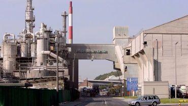 A l'usine Prayon notamment, on soutient les travailleurs d'Arcelor