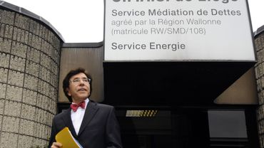 Le Premier ministre Elio Di Rupo en visite au CPAS de Liège