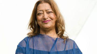 L'architecte Zaha Hadid est décédée