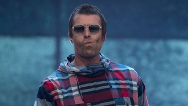 Le chanteur anglais Liam Gallagher lors du festival de Glastonbury le 29 juin 2019.