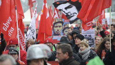Le 30 mars 2013 manifestation anti capitalisme à Liège