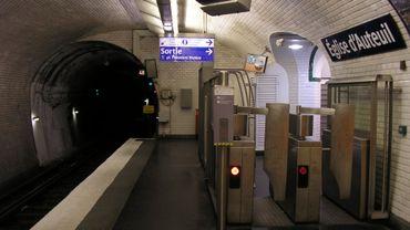 Métro parisien: 60 euros d'amende pour avoir emprunté  un couloir à contre-sens