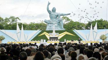 Les Japonais se sont réunis à Nagasaki pour commémorer le 72e anniversaire de la bombe nucléire lâchée sur la ville