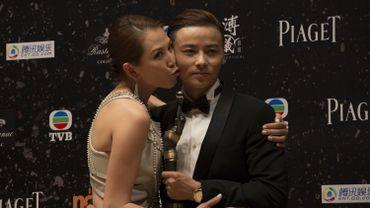 """'acteur chinois Zhang Jin, ici avec sa femme Ada Choi, rejoint le casting de """"Pacific Rim 2"""""""