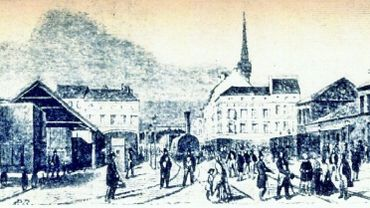 1846: Le premier voyage en train entre Paris et Bruxelles.