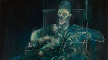 Francis Bacon, 'Pope' (vers 1958).