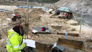 Nivelles: un ancien village du 8e siècle fait l'objet de fouilles archéologiques