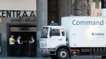 Explosion à Bruxelles-Central: le suspect est un homme de 36 ans
