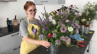Elodie Gernay, première fleuriste éco-responsable de Liège