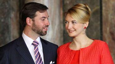 Guillaume de Luxembourg et Stéphanie de Lannoy