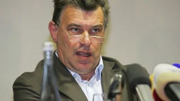 Johan Vermersch, président du FC Brussels