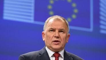 Vytenis Andriukaitis le 18 novembre 2014. L'UE n'a pas suspendu la totalité de ses importations brésiliennes